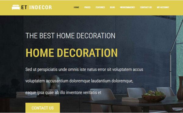 ET Indecor- Responsive WordPress Theme