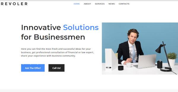 Revoler- Elementor powered WordPress Theme
