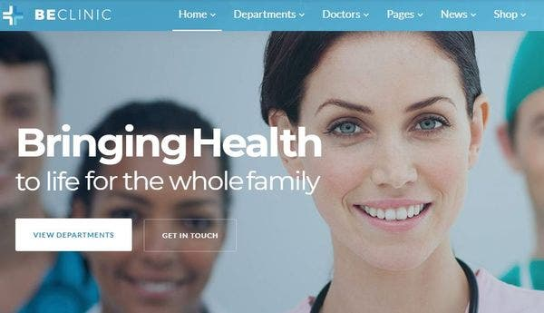 BeClinic- Multipurpose WordPress Theme