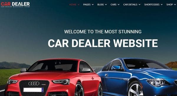 Car Dealer - GEO-fencing Featured WordPress Theme