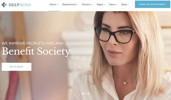 Deep Mind – Professional WordPress Theme