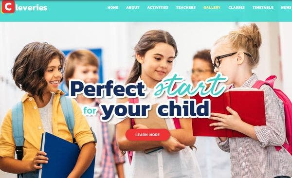 Cleveries - Child-Friendly WordPress Theme