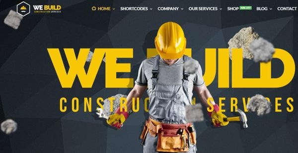 WeBuild – Award Nominee WordPress Theme