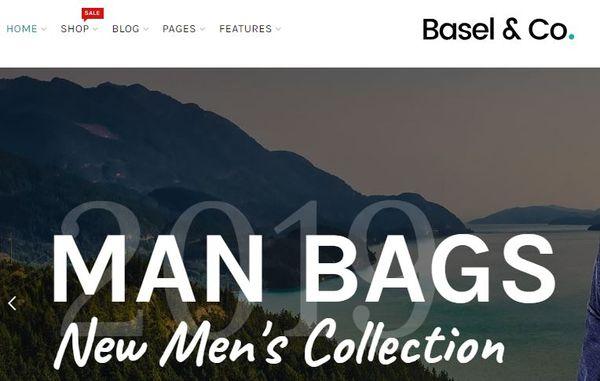 Basel- 360 degree view enabled WordPress Theme