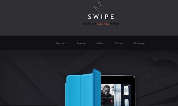 Swipe- SEM enabled WordPress Theme