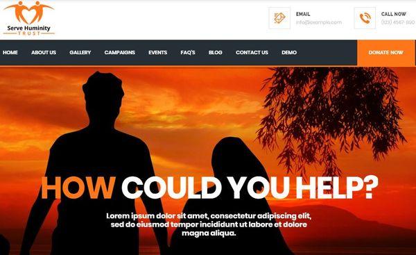Servehuman – WPML Ready WordPress Theme