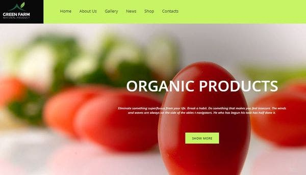 Green Farm – WooCommerce WordPress Theme