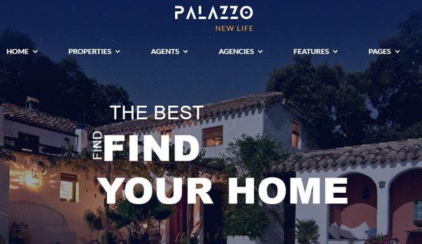 Palazzo - RTL Support WordPress Theme