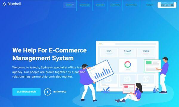 Bluebell – Bootstrap Framework Supported WordPress Theme