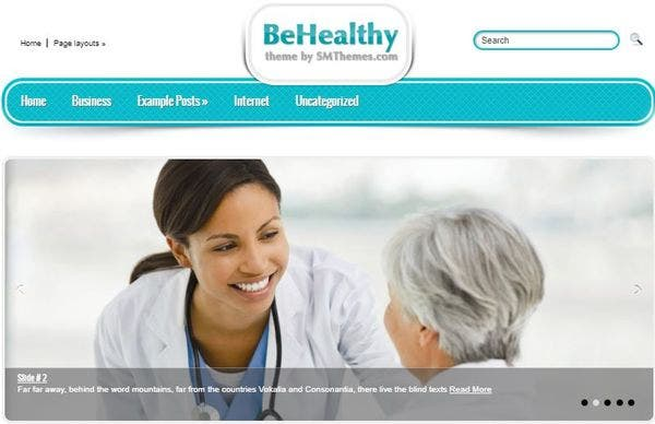 BeHealthy- Health and Therapy Theme