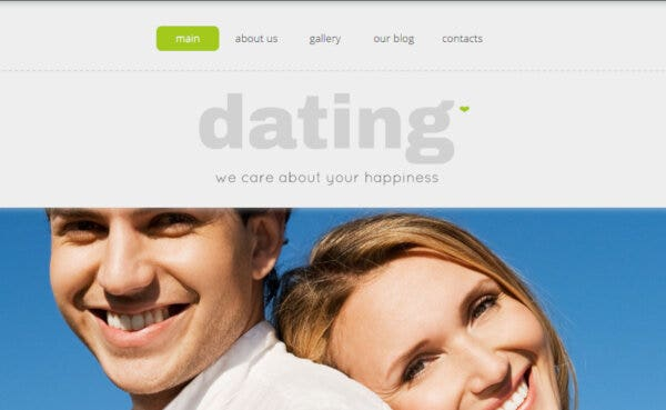 Dating – 24/7 Free Support WordPress Theme