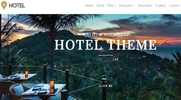 Hotel – WooCommerce Ready WordPress Theme