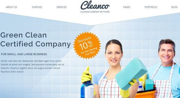 Cleanco – Mega Menu WordPress Theme
