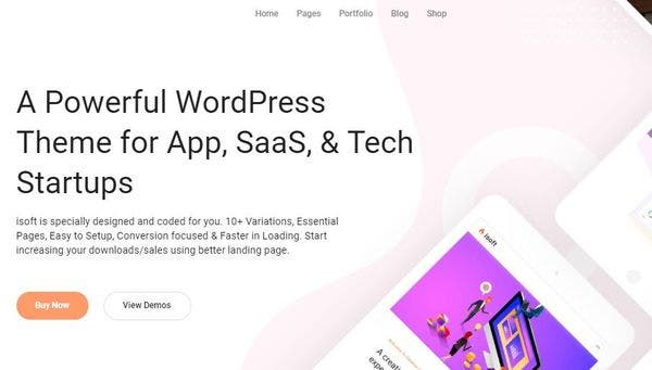 Isoft – Drag and Drop Page Builder WP Theme