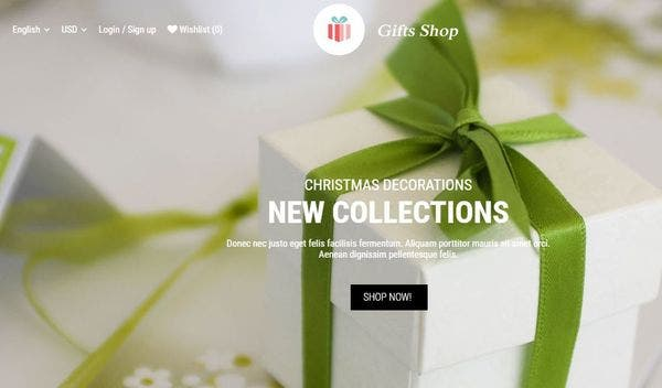 Gifts Shop - Gutenberg Ready WordPress Theme
