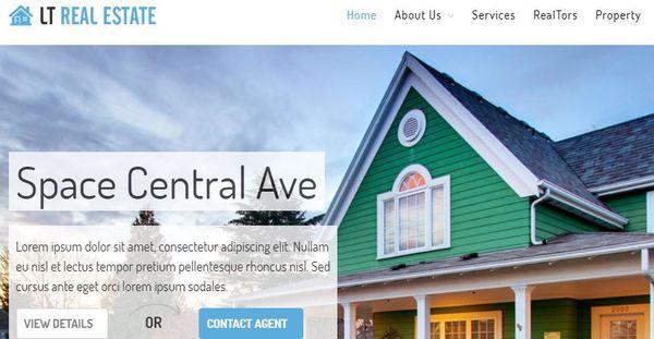 LT Real Estate - LayersWP WordPress Theme