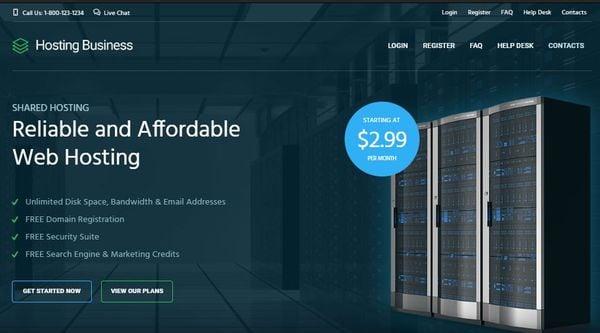 Hosting Business – WPML Ready WordPress Theme