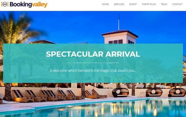 Booking Valley – Event Compatible WP Theme