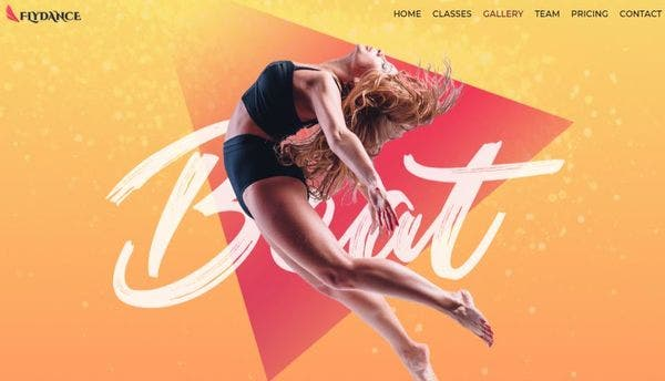Fly Dance Classes - SEO Friendly WordPress Theme