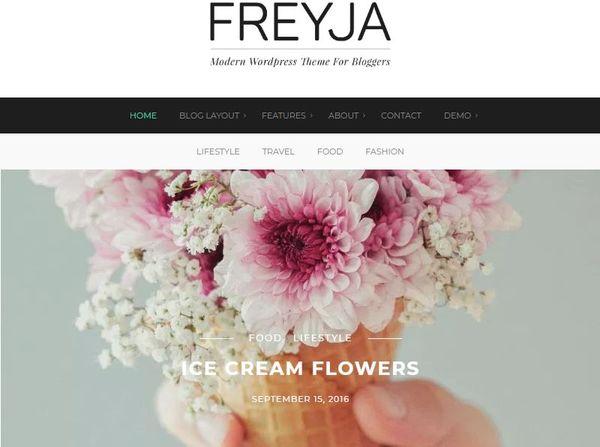 Freyja – WooCommerce Supported WordPress Theme