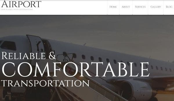 Private Airline -100 % Responsive WordPress Theme