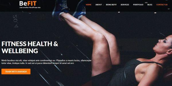 BeFit Pro -SEO Optimized WordPress Theme
