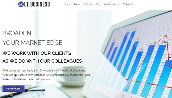 LT Business – Mobile Friendly WordPress Theme