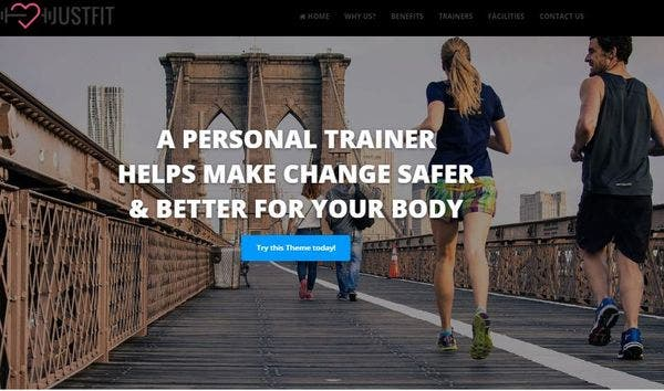 JustFit – RTL (Right-to-Left) Supported WordPress Theme