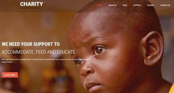 SKT Charity Pro – eCommerce Compatible WordPress Theme