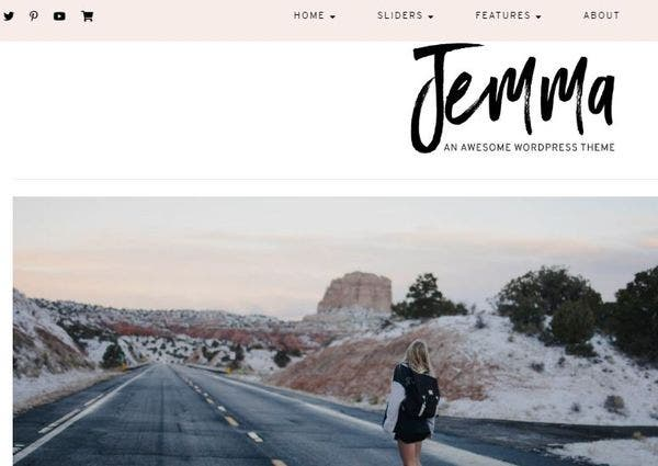 Jemma – Multiple Layouts WordPress Theme