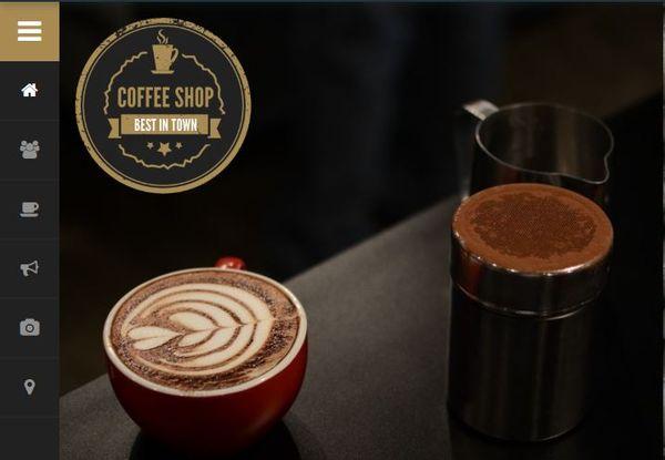 Coffee Shop - Gallery Plugin Enabled WordPress Theme