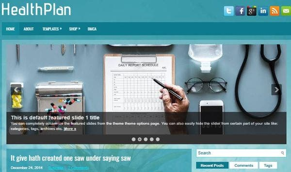 HealthPlan- Reliable WP Theme for Psychotherapy
