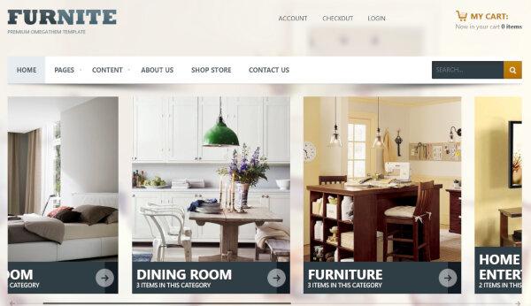 OT Furniture- Bootstrap Supported WordPress Theme