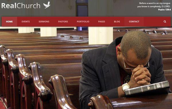 Real Church – Sermon Post WordPress Theme