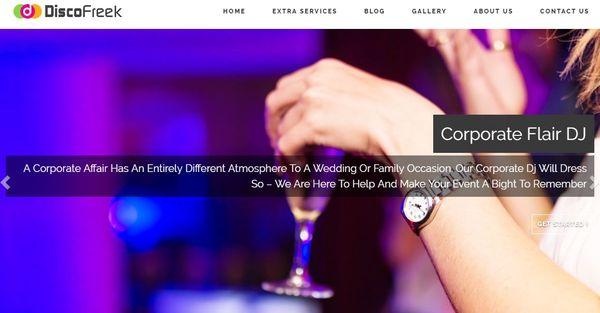 Disco Freek – Testimonial Compatible WordPress Theme