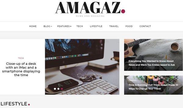Amagaz – WP 4.0 Supported WordPress Theme