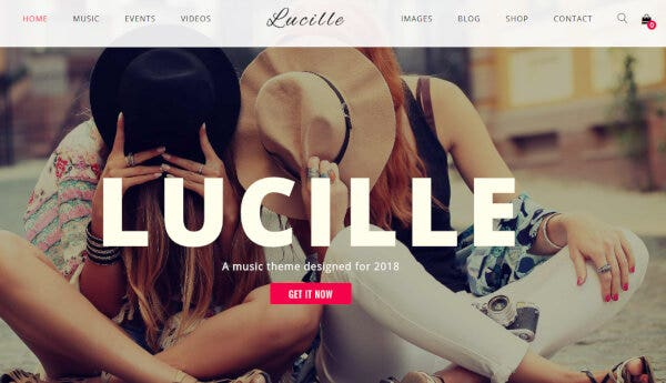 Lucille – HTML5 and CSS3 WordPress Theme