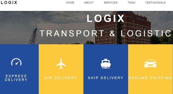 Logix – HTML5 Built WordPress Theme