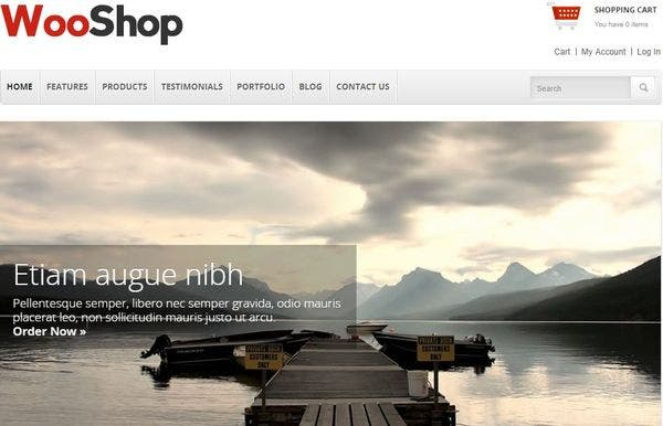 WooShop – WooCommerce Supported WordPress Theme