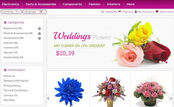 Flower: Cross Compatible WordPress Theme