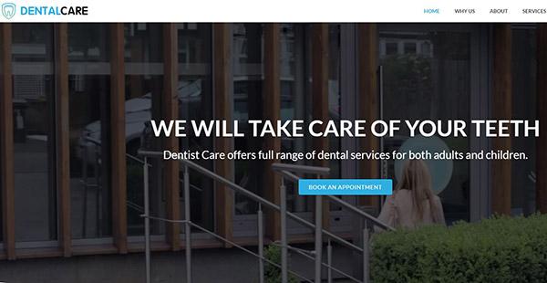 Dental Care – 6 Premium Plugins WordPress Theme