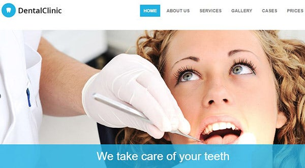 DentalClinic – 100% Responsive WordPress Theme
