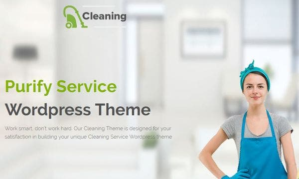 Cleaning – Retina Ready WordPress Theme