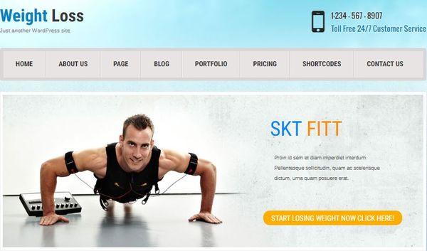 Fitt -ShortCode Ready WordPress Theme