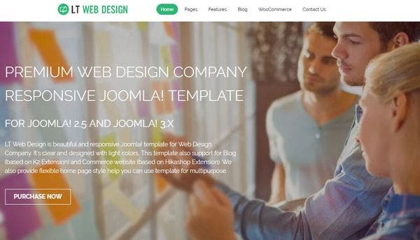 LT Web Design – Shortcodes Compatible WordPress Theme