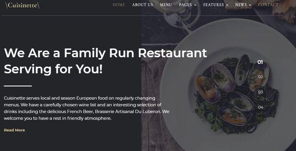 Cuisinette – Mega Menu WordPress Theme