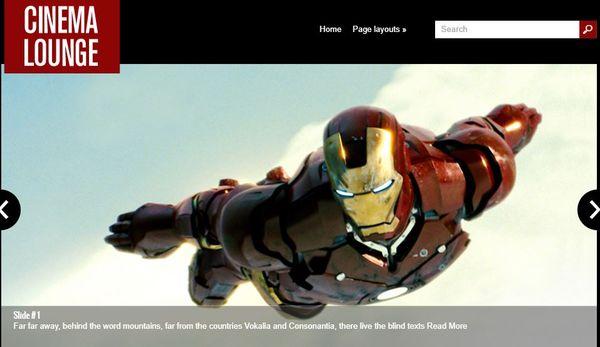 CinemaLounge – Ecwid Supported WordPress Theme
