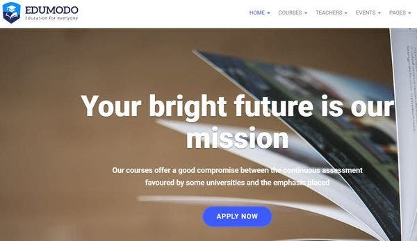 Edumodo - LearnDash WordPress Theme