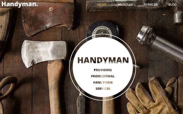 Handyman – SEO-optimized WordPress Theme