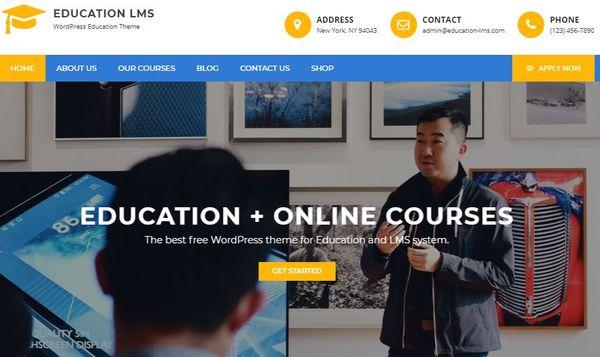 Education LMS – Effective WordPress Theme